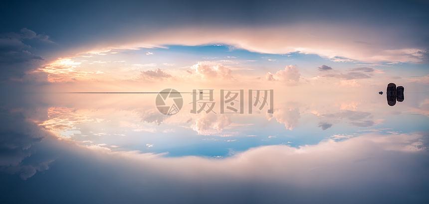 唯美梦幻的天空之境图片