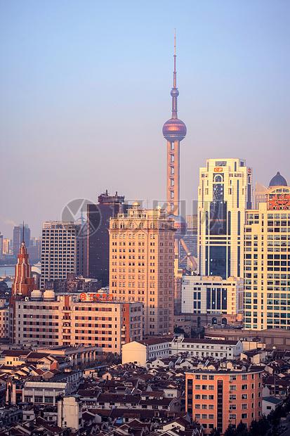 上海城市中心区图片