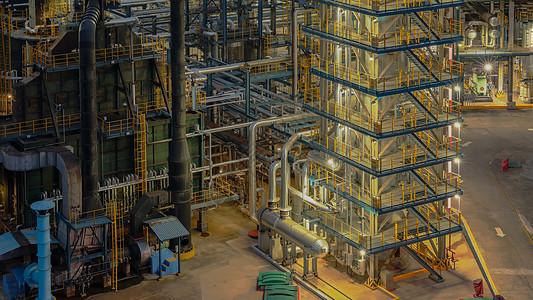 智能工厂夜景图片