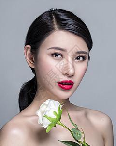 商业人像妆容展示图片