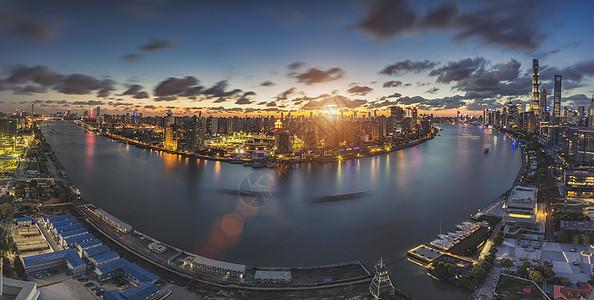 苏河湾全景图片