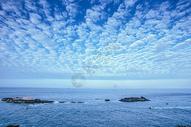 东极岛海水背景图片