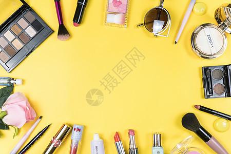 化妆品与化妆工具图片