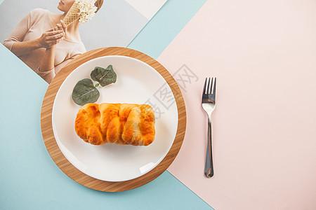 食物与餐具图片
