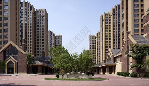 建筑外观立面图片