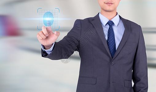 触摸未来科技男人图片