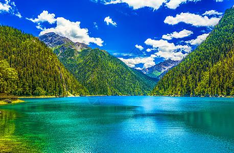 九寨沟山水自然美景图片