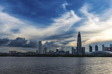 深圳湾风云图片