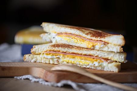 早餐三明治图片
