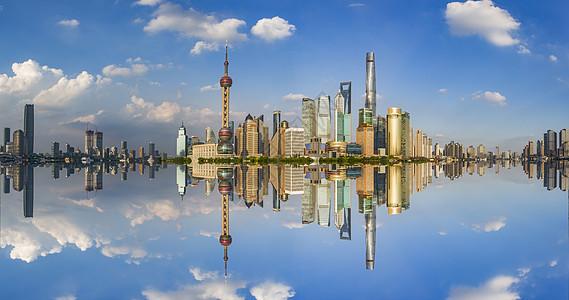 上海蓝图片
