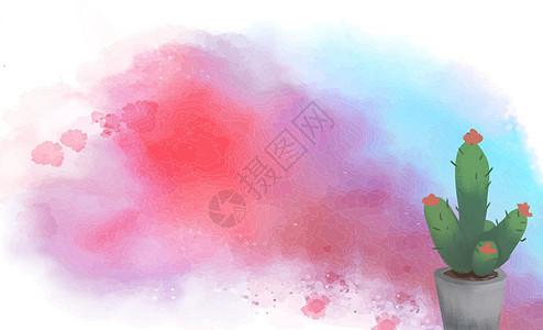 植物水彩图片