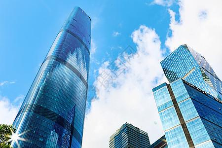 高楼林立的CBD城市图片