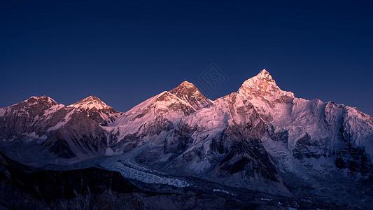 珠峰 雪山图片