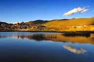 香格里拉 松赞林寺图片