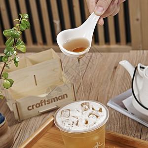 奶茶拍摄图片
