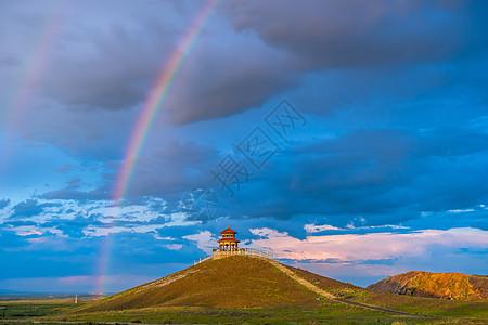 新疆草原自然风光图片