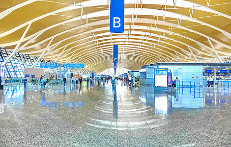 浦东机场图片