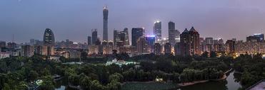 北京CBD城市边际线图片