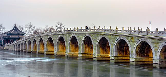 十七孔桥图片