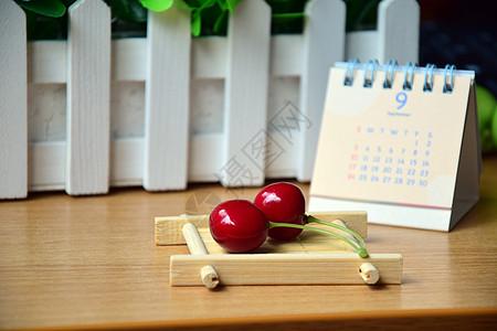 樱桃道具摆拍图片