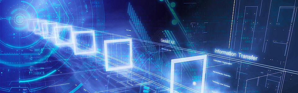 计算机代码创意背景图图片