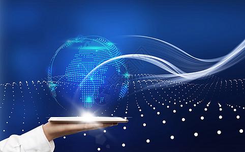 全球科技  金融数值图片