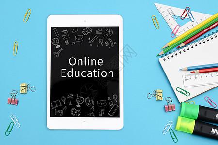 平板在线教育图片