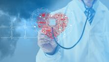 现代诊断心脏技术的概念图片