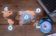 全球化互联网商务图片