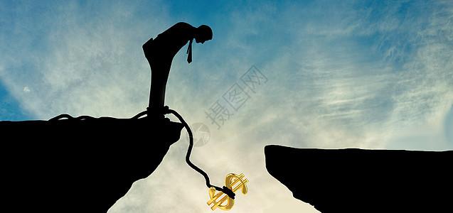 坠落的金钱图片