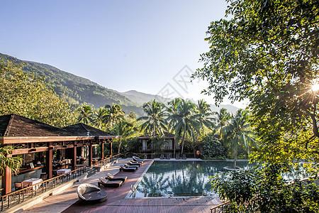 海南保亭七仙岭君澜度假酒店泳池图片