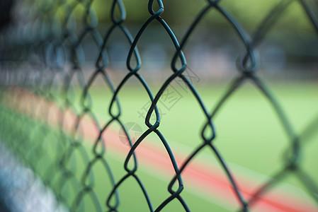 球场的防护网图片