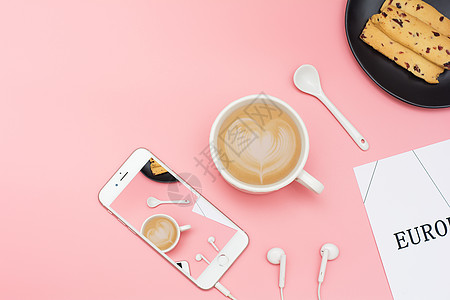 文艺休闲下午茶摆设素材图片图片