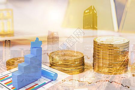 理财投资概念图图片