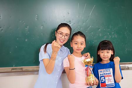 学生奖励奖杯奖牌图片