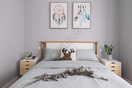 ins北欧日式卧室家居图片