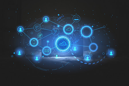 科技技术图标图片