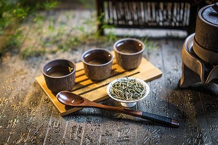 禅茶一味茶道茶具茶艺茶叶图片
