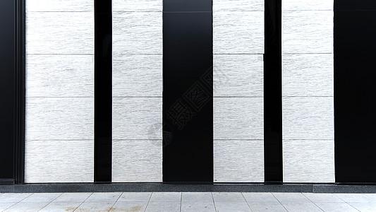 简约建筑线条背景图片