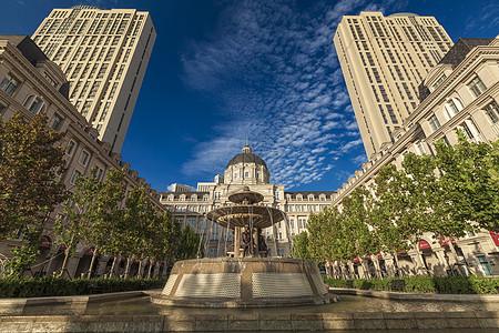 天津城市欧式建筑图片