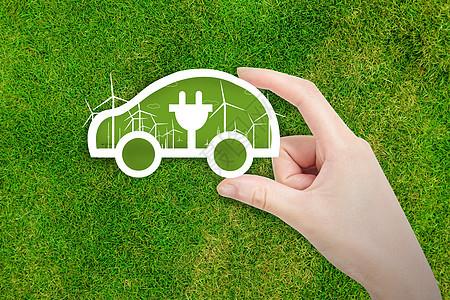 充电环保汽车图片