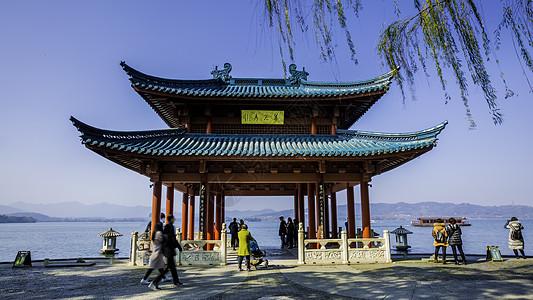 西湖翠光亭图片