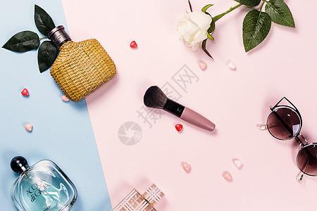 创意撞色化妆品图片
