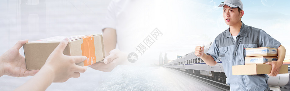 物流背景banner图片