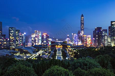 梦幻深圳的城市图片