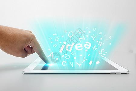 手触平板科技灵感图片