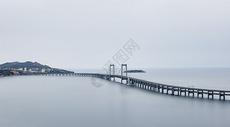 大连极简风格城市建筑跨海大桥图片