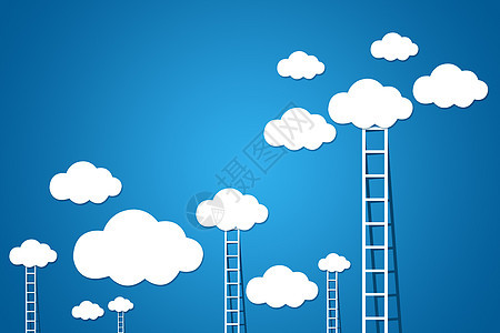 云端梯子图片