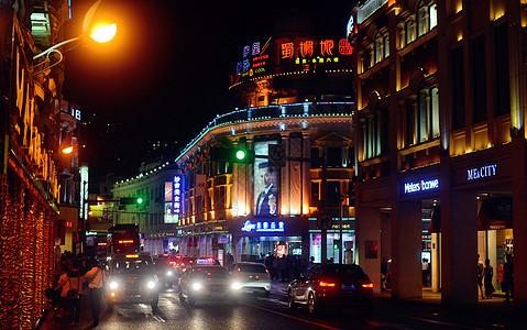 厦门中山路夜景图片
