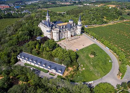 风光欧式建筑城堡图片